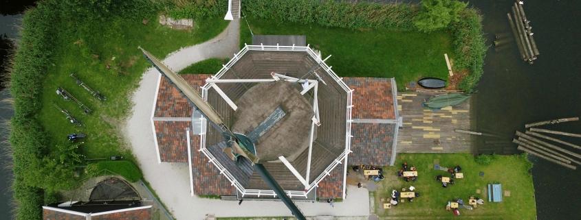 Drone picture Molen de Ster by Rich Stott